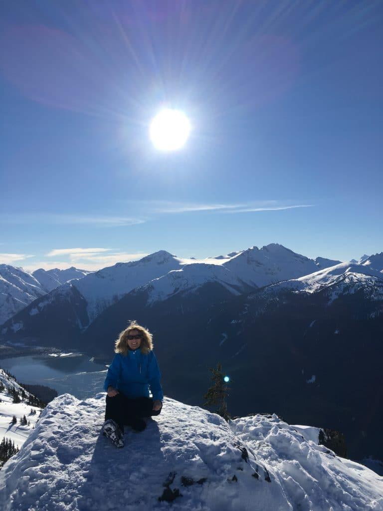 Glorious ski day